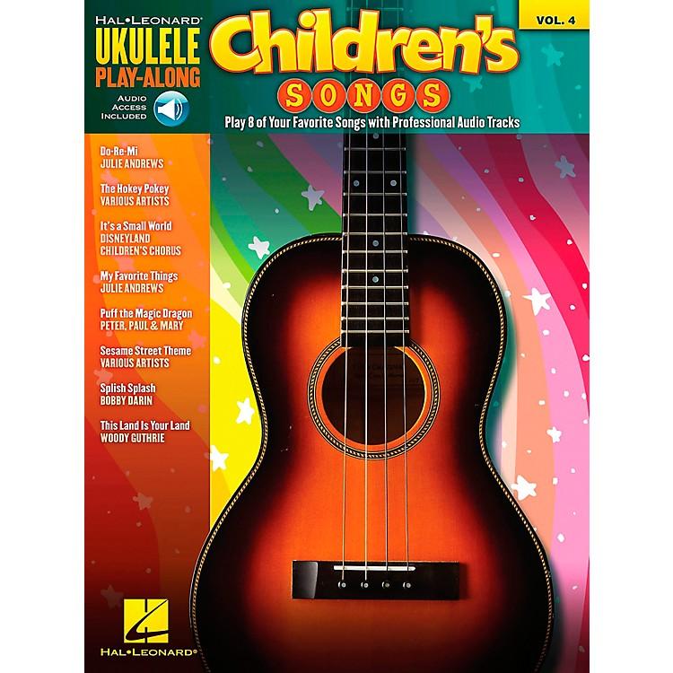 Hal LeonardChildren's Songs - Ukulele Play-Along Vol. 4 (Book/CD)