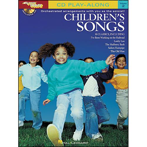 Hal Leonard Children's Songs E-Z Play Today CD Play Along Volume 2 Book/CD