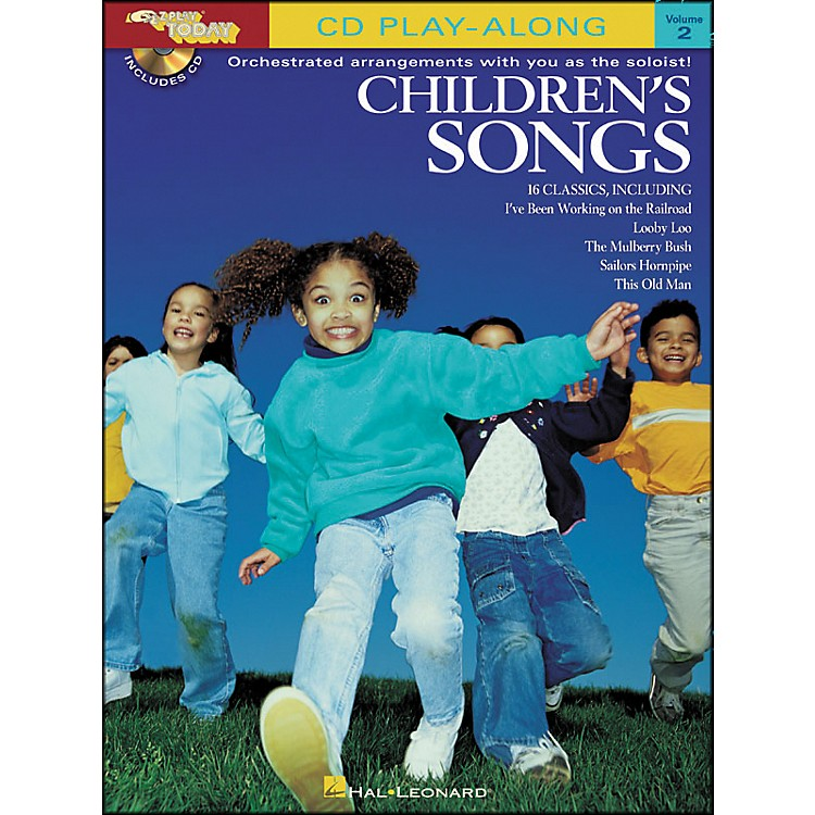Hal LeonardChildren's Songs E-Z Play Today CD Play Along Volume 2 Book/CD
