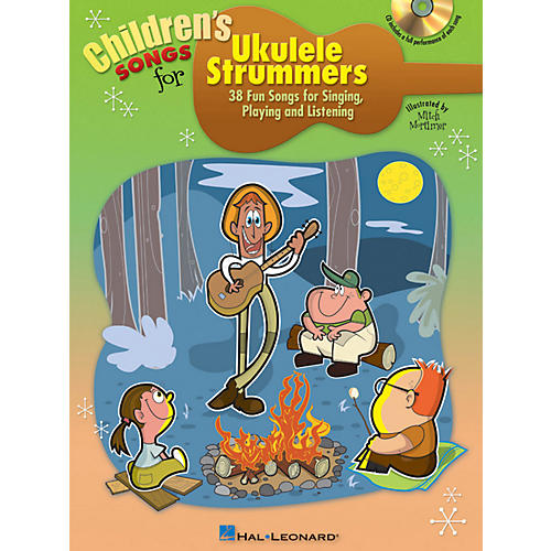 Hal Leonard Children's Songs For Ukulele Strummers Book/CD