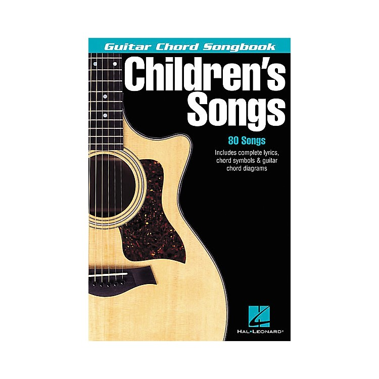 Hal Leonard Children's Songs Guitar Chord Songbook