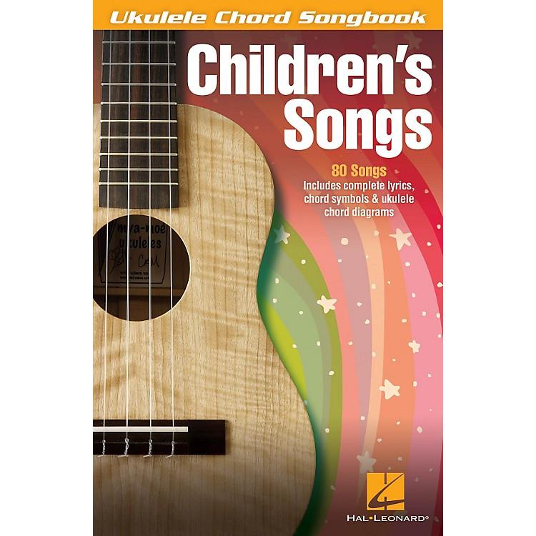 Hal LeonardChildren's Songs Ukulele Chord Songbook