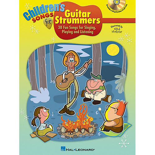 Hal Leonard Children's Songs for Guitar Strummers Guitar Book Series Softcover with CD-thumbnail