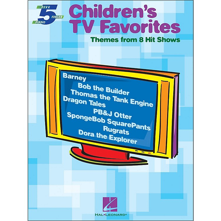 Hal Leonard Children's TV Favorites for Five Finger Piano