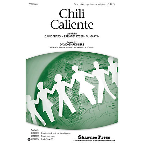 Shawnee Press Chili Caliente 3-PART MIXED composed by Joseph M. Martin