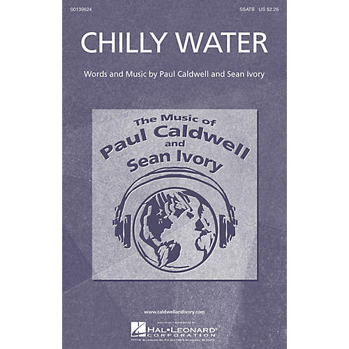 Caldwell/Ivory Chilly Water SSATB composed by Paul Caldwell-thumbnail