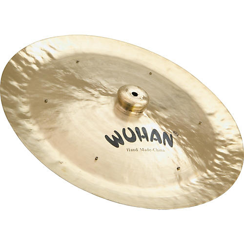 Wuhan China Cymbal with Rivets  20