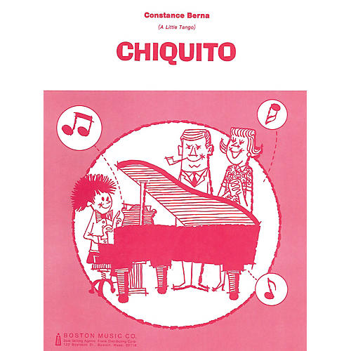Music Sales Chiquito (A Little Tango) Music Sales America Series-thumbnail