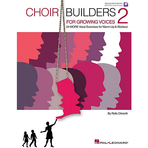 Hal Leonard Choir Builders for Growing Voices 2 Book and CD pak Composed by Rollo Dilworth-thumbnail