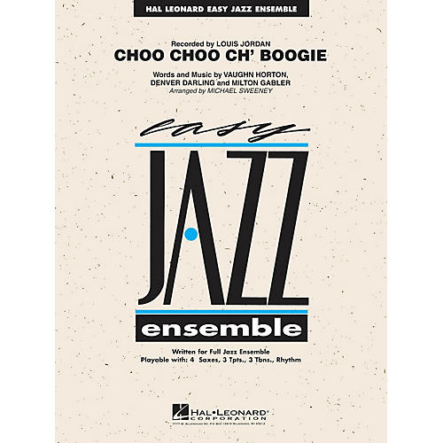 Hal Leonard Choo Choo Ch' Boogie Jazz Band Level 2 Arranged by Michael Sweeney-thumbnail