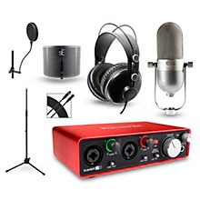 Focusrite Choose Your Mic Recording Package with Scarlett 2i2 and MH310 Headphones V400