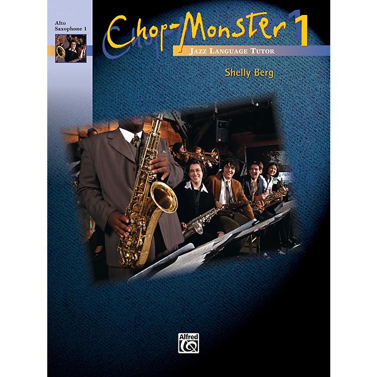 AlfredChop-Monster Book 1 Alto Saxophone 1 Book