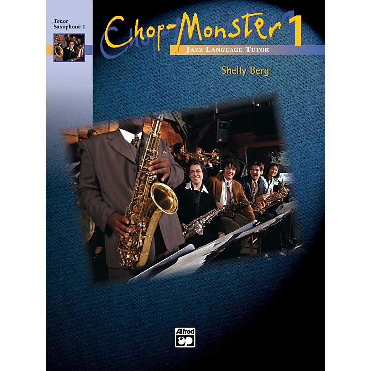 AlfredChop-Monster Book 1 Baritone Saxophone Book