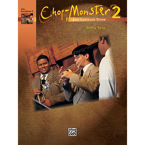 Alfred Chop-Monster Book 2 Alto Saxophone 2 Book-thumbnail
