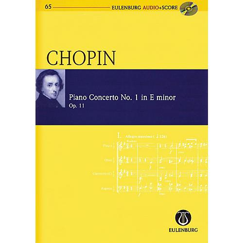 Eulenburg Chopin - Piano Concerto No. 1 in E-minor, Op. 11 Study Score W/ CD Edited by Michael Stegemann-thumbnail
