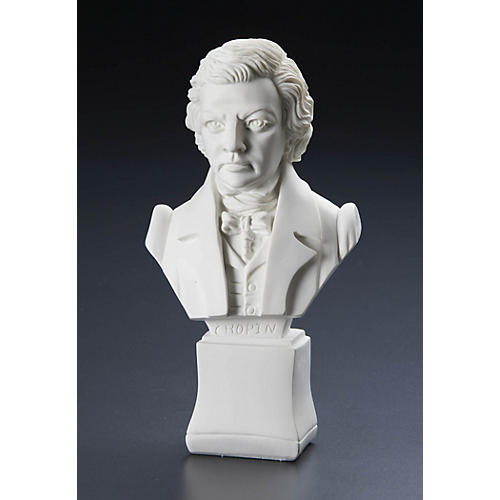 Willis Music Chopin 7 inch. (Composer Statuette) Willis Series-thumbnail