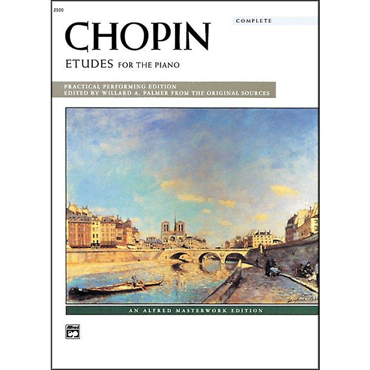 Alfred Chopin Etudes (Complete) Early Advanced/Advanced Piano