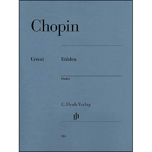 G. Henle Verlag Chopin Etudes Urtext Opus 10 And Opus 25 By Chopin / Zimmermann