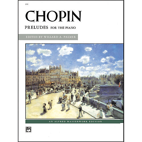 Alfred Chopin Preludes Intermediate/Early Advanced Piano