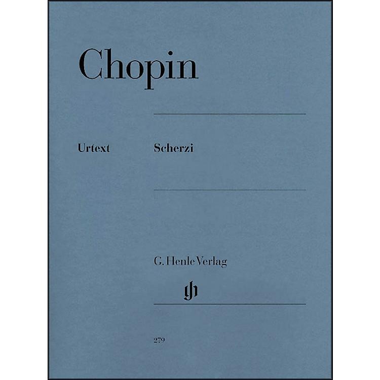 G. Henle VerlagChopin Scherzos Opus 20 Scherzi Urtext By Chopin / Zimmermann