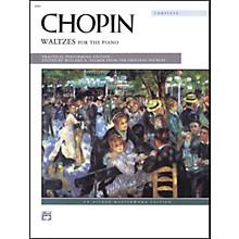 Alfred Chopin Waltzes (Complete) Intermediate/Early Advanced Piano