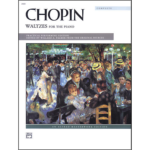 Alfred Chopin Waltzes (Complete) Intermediate/Early Advanced Piano-thumbnail