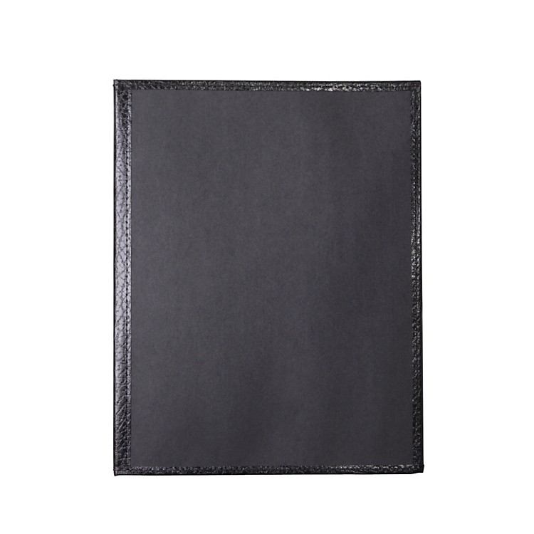 Deer River Choral Economy Folder with Bottom Pocket Black
