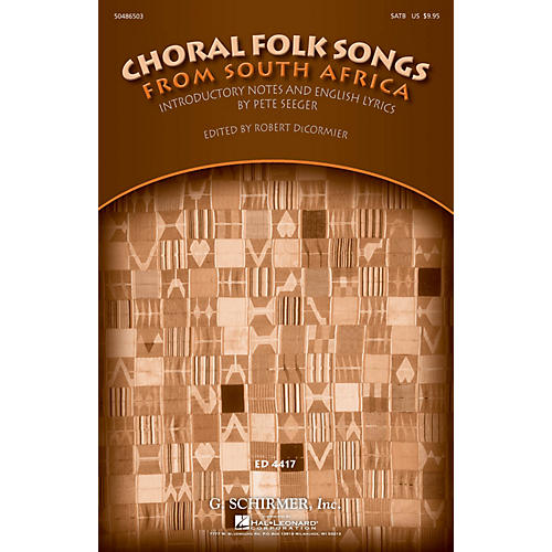 G. Schirmer Choral Folk Songs from South Africa (Collection) SATB