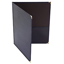 Deer River Choral Leatherette Folio With Bottom Pockets