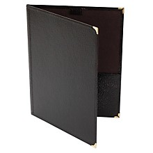 Deer River Choral Leatherette Folio With Pencil Loop Bottom Pockets