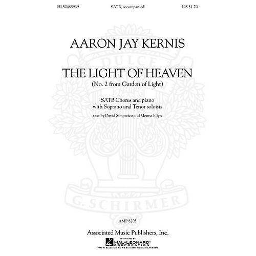 Associated Choral Movements from Garden of Light (No. 2 - The Light of Heaven) SATB composed by Aaron Jay Kernis-thumbnail