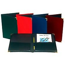 "Marlo Plastics Choral Rehearsal Folder 9"" X 12"" with Gusset Pockets Green"