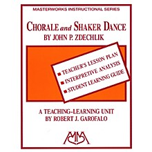 Meredith Music Chorale and Shaker Dance Meredith Music Resource Series by Robert Garofalo