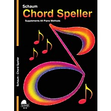 SCHAUM Chord Speller Educational Piano Book (Level 5)