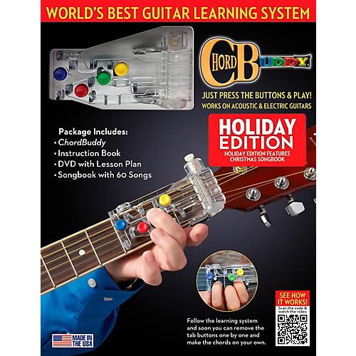 Hal Leonard ChordBuddy Holiday Guitar Learning System