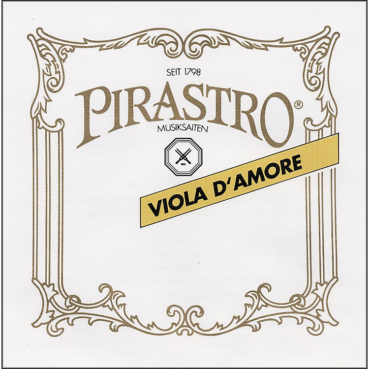 PirastroChorda Gamba StringsBass Gamba D-6, Gut/Silv