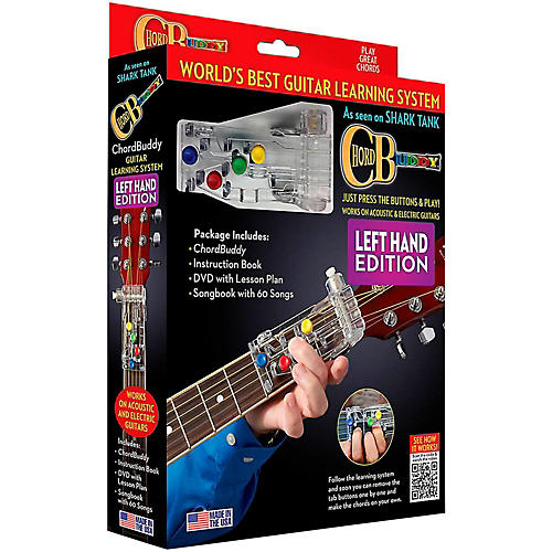 Hal Leonard Chordbuddy Left-Handed Guitar Learning System Pack-thumbnail