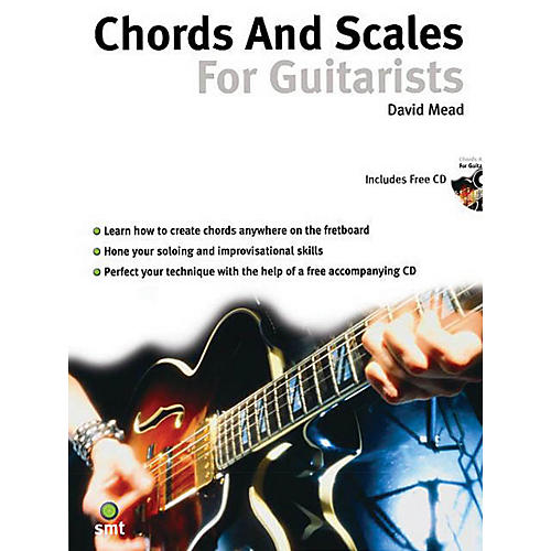 Music Sales Chords and Scales for Guitarists Music Sales America Series Softcover with CD Written by David Mead
