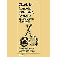 Music Sales Chords for Mandolin, Irish Banjo, Bouzouki, Tenor Mandola, Mandocello Music Sales America Series