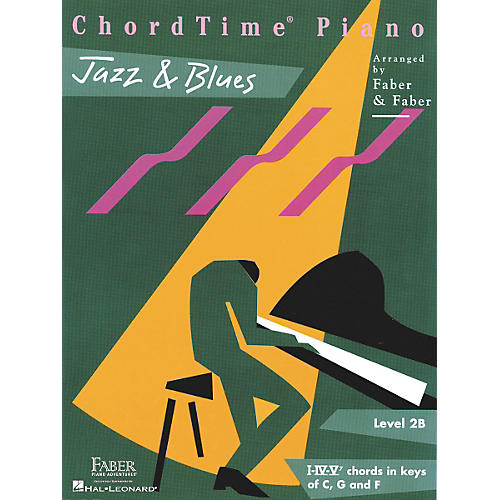 Faber Piano Adventures Chordtime Jazz & Blues L2B