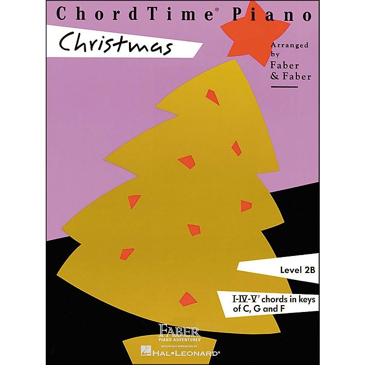 Faber MusicChordtime Piano Christmas Level 2B - Faber Piano