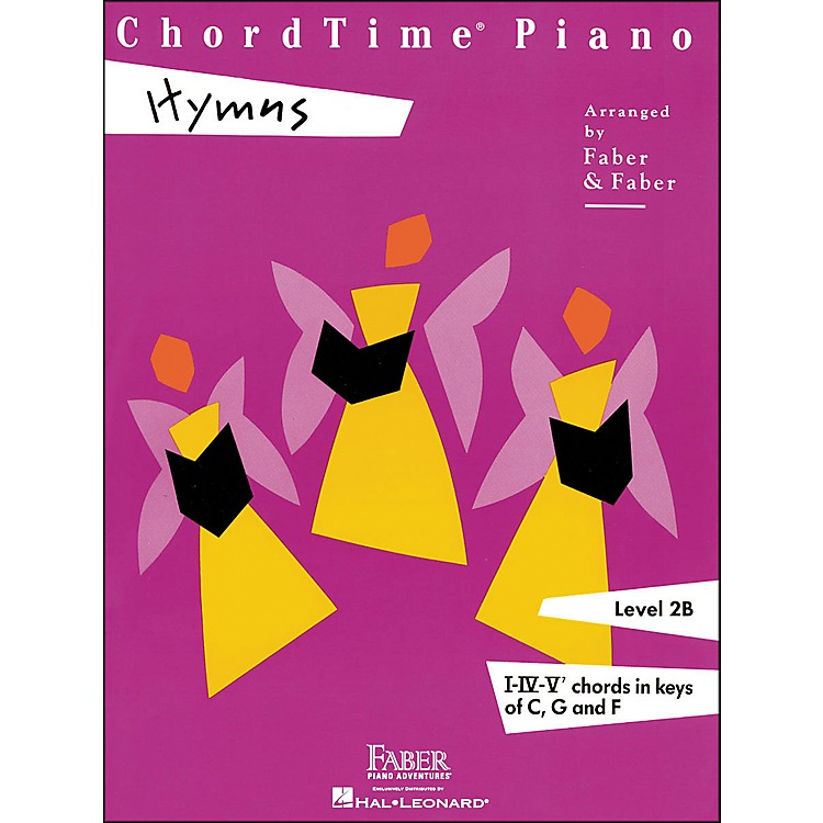 Faber MusicChordtime Piano Hymns Book Level 2B Chords In Keys C, G, And F - Faber Piano