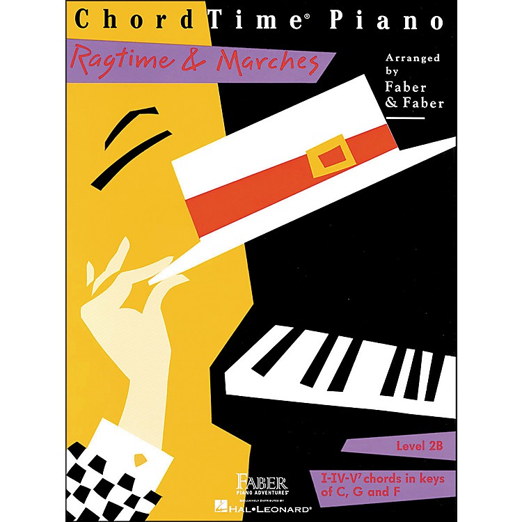 Faber Music Chordtime Piano Ragtime & Marches Level 2B Book - Faber Piano
