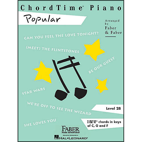Faber Piano Adventures Chordtime Popular Level 2 B-thumbnail