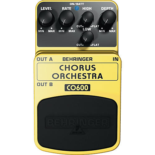 Behringer Chorus Orchestra CO600 Guitar Effects Pedal
