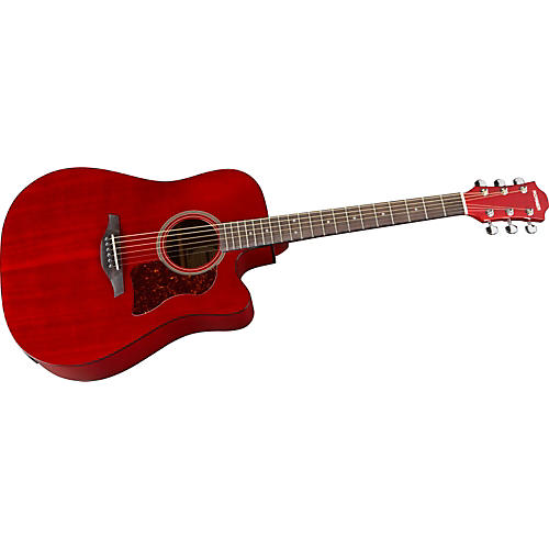 Hohner Chorus Series Mahogany Acoustic-Electric Guitar-thumbnail