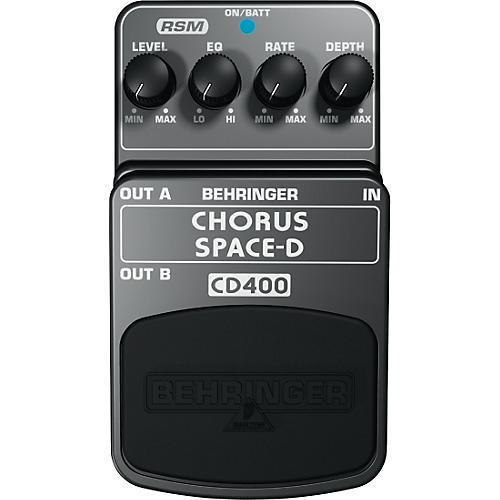 Behringer Chorus Space-D CD400 Guitar Effects Pedal