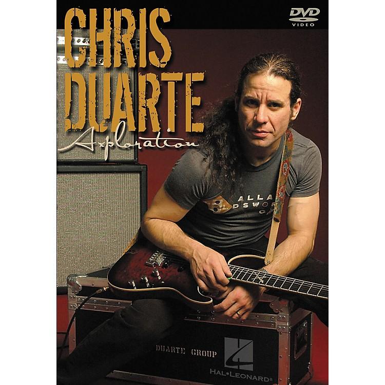 Hal LeonardChris Duarte - Axploration Guitar DVD