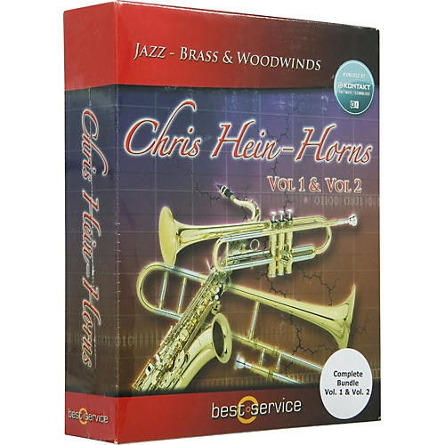 Best Service Chris Hein Horns Complete (Vol. 1 & Vol. 2 Bundle) Sample Library