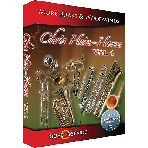 Best Service Chris Hein Horns Vol.4 More Brass & Woodwinds